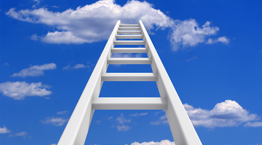 Working your way slowly up the ladder of Optimism takes small steps.